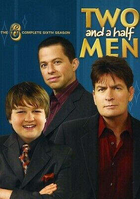 Two and a Half Men: The Complete Sixth Season [4 Discs] (2011, DVD NEW)