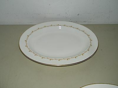 Royal Doulton England Bone China Rondo H4935 Oval Serving Platter 13 Inch