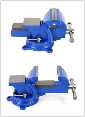3/4/5/6'' Cast Iron Work Bench Vice Engineer Jaw Swivel Base Workshop Vise Clamp