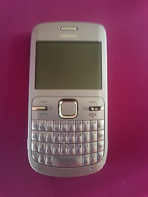 Nokia c3 mobile phone   Vodafone locked  with car charger p/u NSW 2207