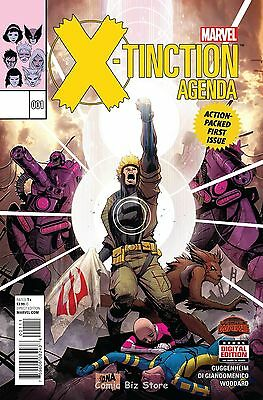 X-Tinction Agenda #1  (2015) 1St Printing Bagged & Boarded Secret Wars