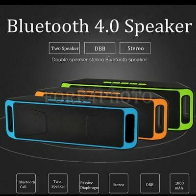 10W Loudly Portable Wireless Boombox Stereo Bluetooth Speaker For iPhone Samsung