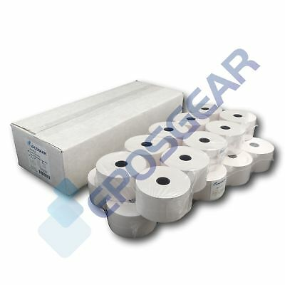 44mm x 80mm 44x80mm Single Ply Paper Cash Register Till Printer Receipt Rolls