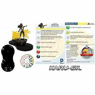 Karu-Sil with Three Beasts Made of Fear 037 - War of Light - Heroclix