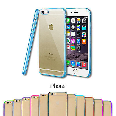Funda Silicona Tpu Bumper Hard Back Carcasa Trasera Case Para Apple Iphone
