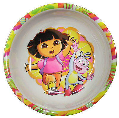 Dora The Explorer Kids Melamine Food Bowl - Zak Designs