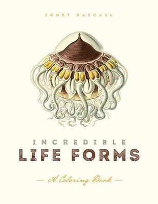 Incredible Life Forms: A Coloring Book by Ernst Haeckel Paperback Book (English)