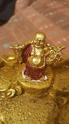 Buddha - Laughing Good Luck and Money 5cm - NEW