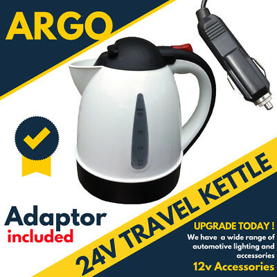24V 0.8Lt Capacity  In Car Small Electric Travel Kettle