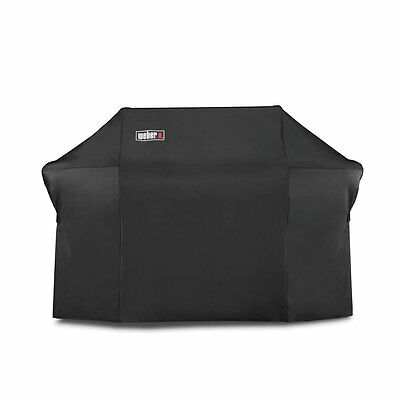 Weber 7109 Grill Cover with Storage Bag for Summit 600 Series Gas Grills