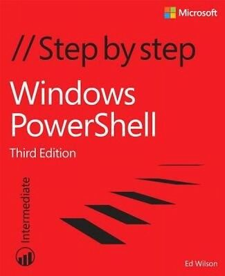 Windows Powershell Step by Step by Ed Wilson Paperback Book (English)