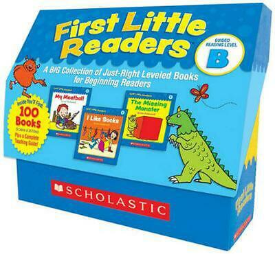 First Little Readers: Guided Reading Level B: A Big Collection of Just-Right Lev