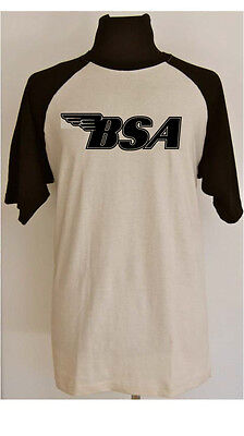 BSA MOTORCYCLE retro/vintage t-shirt