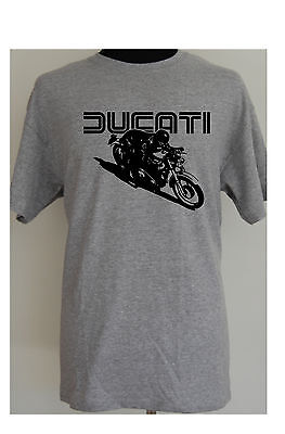 DUCATI CAFE RACER - motorcycle t-shirt - S to 5XL