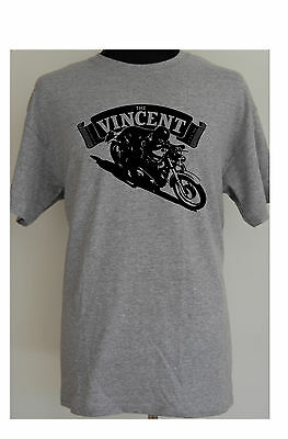VINCENT CAFE RACER - motorcycle t-shirt - S to 5XL