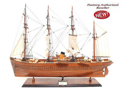 "SS Gaelic Steam Tall Ship  32"" Wood  Model Sailboat Assembled"