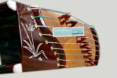 "9-String, 16"" Training-Size Rosewood Guzheng, Chinese Zither Harp, Koto"