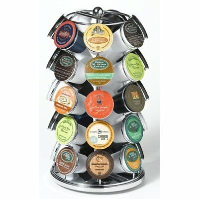Nifty 5735 35 K-Cup Carousel for Keurig Coffee Cups Chrome