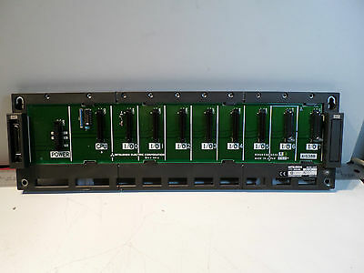 MELSEC Mitsubishi - A1S38B - BASE UNIT - RACK 8 Slot   *Excellent Cond*