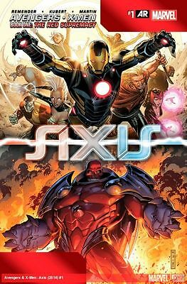 Avengers And X-Men: Axis #1 (Of 9)  (2014) 1St Printing Bagged & Boarded ($4.99)