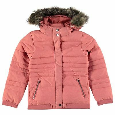 O'NEILL Girls Faded Rose Pink Frosty Water Repellant Jacket 11-12 Years BNWT