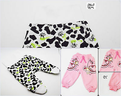 Infant Baby Boys Girls Baggy Trousers Newborn Pants Elasticated High Waist