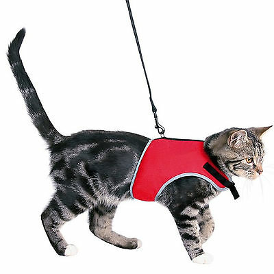 Trixie Soft Cat Harness With Lead 1.2m 24-42cm