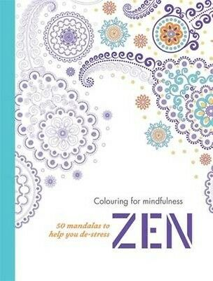 Zen: Adult Colouring for Mindfulness by Hamlyn Paperback Book