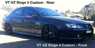 Stg4 Ultra Lows V6 VT VX VY Front Sedan Commodore King Lowered Springs Low Kings