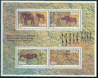 Swa South West Africa 1976 Rock Paintings S/s Mnh M15166