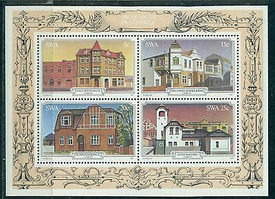 Swa South West Africa 1981 Historical Buildings In Luderitzbucht S/s Mnh M15167