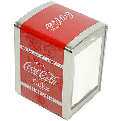 Coca-Cola Coke Style Design Metal Napkin Serviette Holder Storage New