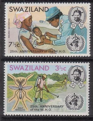 Swaziland 1973 25Th Anniv. Of Who Mnh M4813