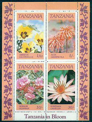 9082334 Excellent In Tanzania 634-641 Mnh 1990 Extinct Animals Quality