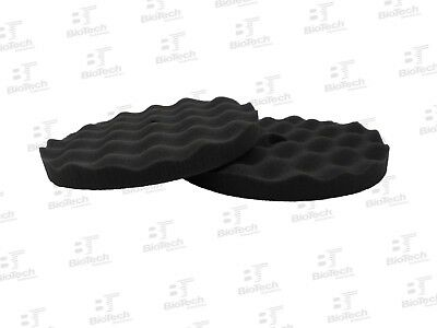 "Waffle Foam Buffing Pad 8""- Finishing Pad / Black Pad (1 Unit)"
