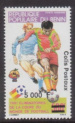 Benin 1990 Qualification For Spain 82 Soccer Football World Cup Mnh M9057