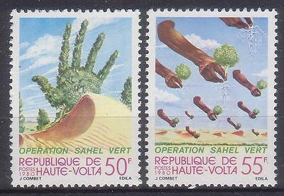 Upper Volta 1980 Recultivation Of Sahel Zone Mnh M10061