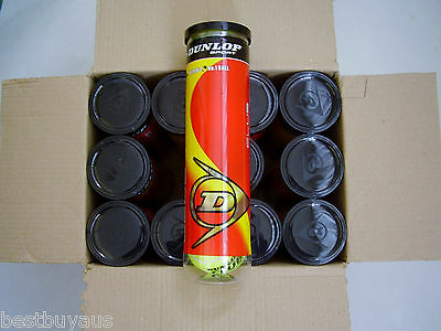 NEW!! 48 Dunlop Club All Court Tennis Balls in cans of 4