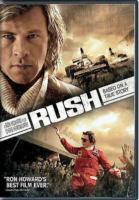 Rush Dvd Sealed - Ron Howard Chris Hemsworth - Authentic Us Release