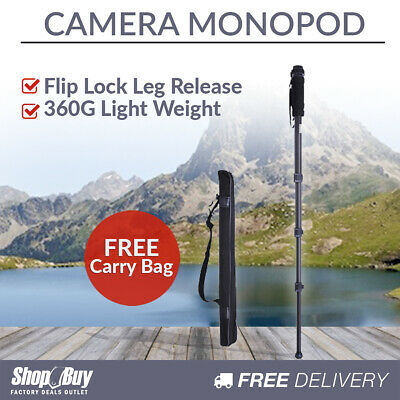 Professional Digital Camera Monopod Potable Unipod Tripod Holder For DSLR SLR