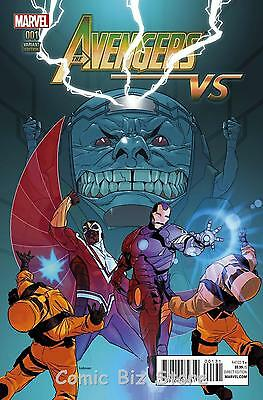 Avengers Vs #1 (2015) 1St Printing Andrasofszky Variant Cover Bagged & Boarded