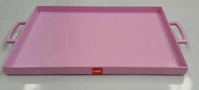 Zak Designs Mee Mee Range Melamine Rectangle Serving Tray Pink