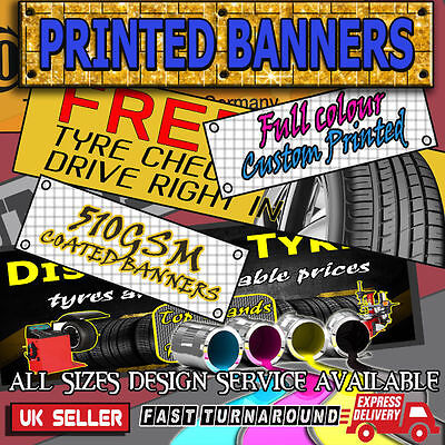 Quality Pvc Personalised Printed Banners Send In Your Own Artwork