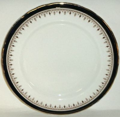 Aynsley Leighton Cobalt Scalloped Luncheon Plate (Imperfect)
