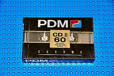 Pdm  Cdx   60   Blank Cassette Tape  (1)    (Sealed)
