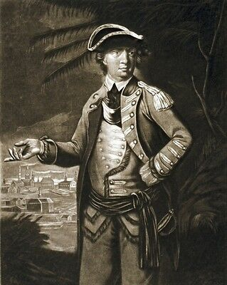 New 11x14 Photo: American Traitor General Benedict Arnold