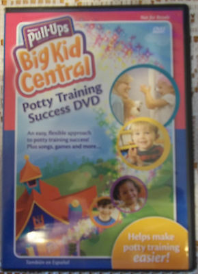 Huggies Pull Ups Big Kid Central Potty Training Success DVD