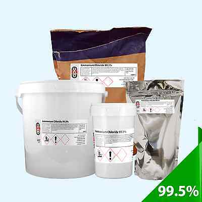 Ammonium Chloride 99.5% - **Various Pack Sizes Available**