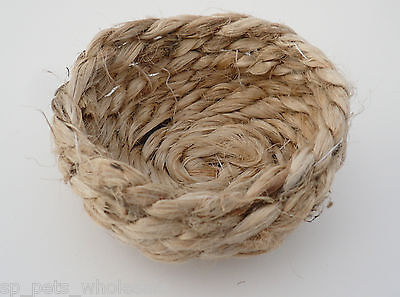 Quality Jute Nest Liners For  Pans Suitable For Canary And Finch Quantities