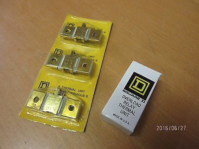 Overload Relay Thermal Units B1.16